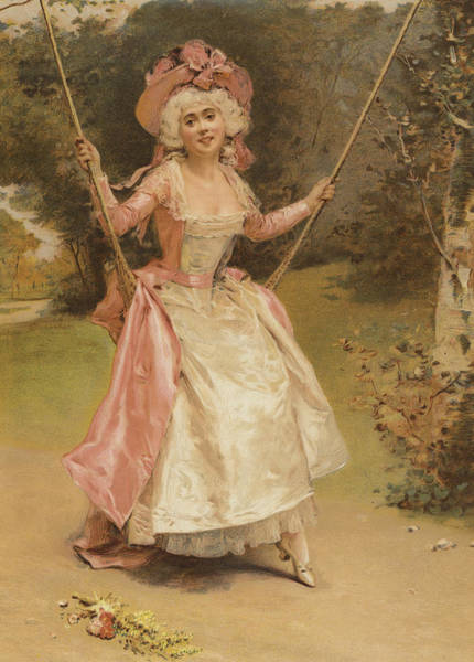 Corset Painting - The Swing by English School
