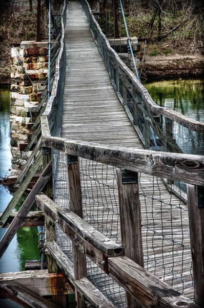 Photograph - The Swinging Bridge by James Woody