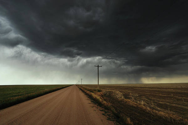Middle Of Nowhere Photograph - The Symmetry Of The Plains by Brian Gustafson