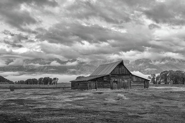 Photograph - The T.a. Moulton Barn by Victor Culpepper
