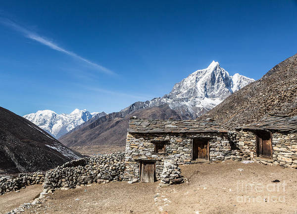 Photograph - The Taboche Peak In Nepal by Didier Marti