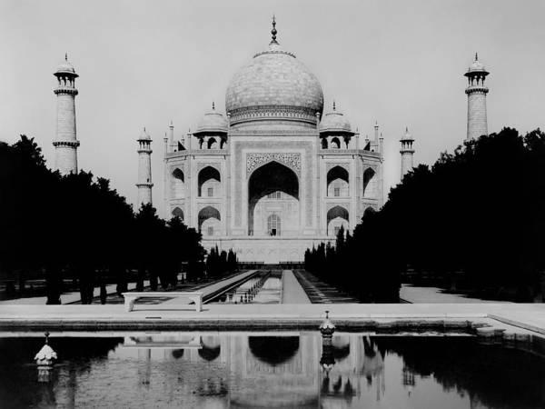 Taj Mahal Photograph - The Taj Mahal - 1920 by War Is Hell Store