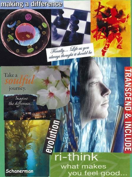 Mixed Media - The Tao Of Life by Susan Schanerman