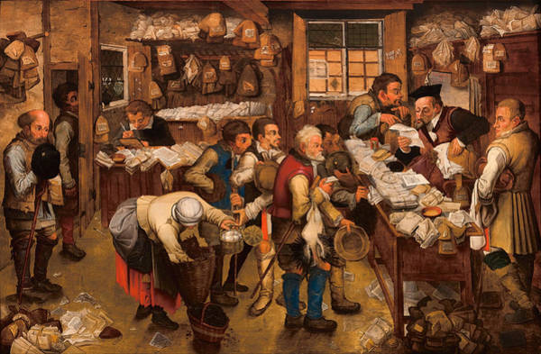The Tax Collector's Office Art Print