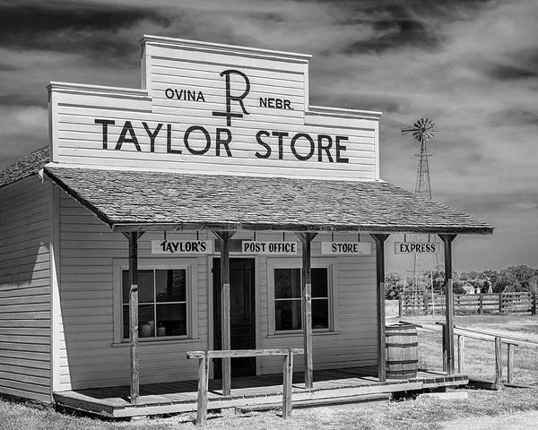 Photograph - The Taylor Ranch Store by Susan Rissi Tregoning