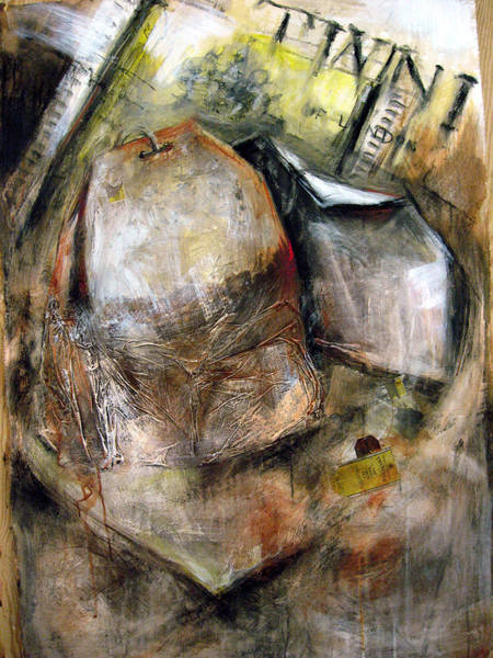 Wall Art - Painting - The Tea Bag by Leyla Munteanu