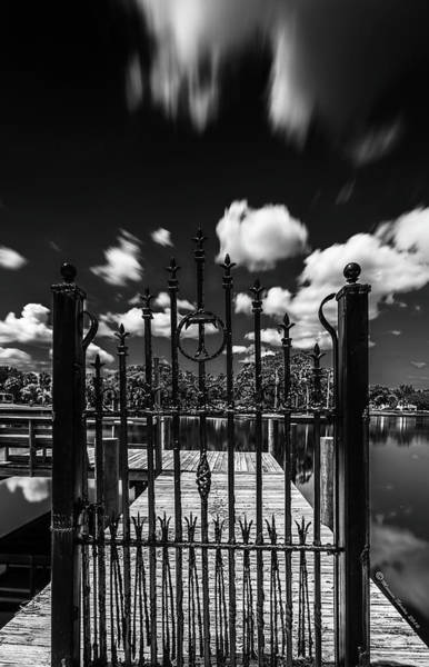Iron Fence Wall Art - Photograph - The Tee Gate  by Marvin Spates