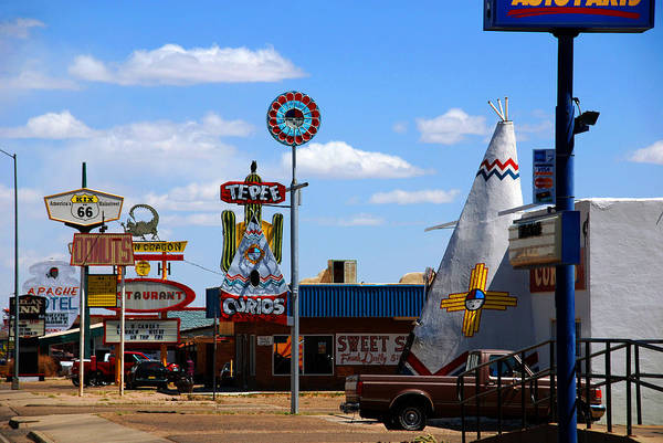 Photograph - The Tee-pee Curios On Route 66 Nm by Susanne Van Hulst