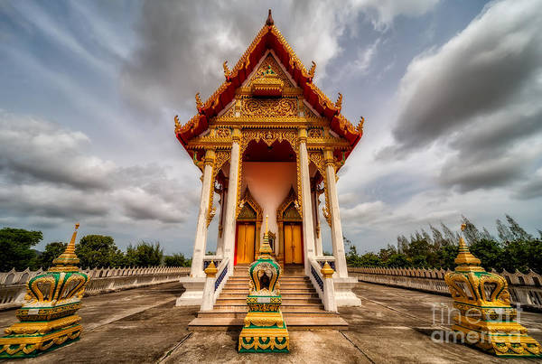 Wall Art - Photograph - The Temple by Adrian Evans