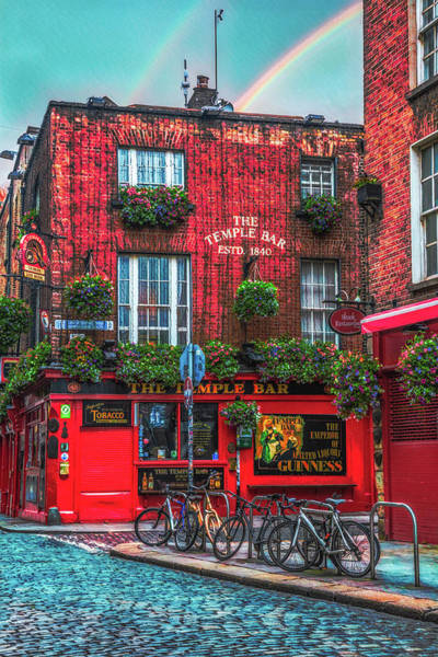 Temple Bar Wall Art - Photograph - The Temple Bar In Ireland Early Evening by Debra and Dave Vanderlaan