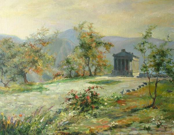 Painting - The Temple Of Garni by Tigran Ghulyan