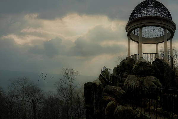 Photograph - The Temple Of Love Overlook by Chris Lord