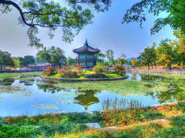 Wall Art - Photograph - The Temple Pond by Michael Garyet