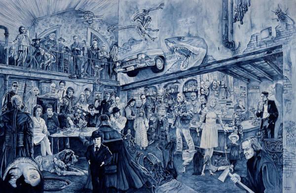 Chucky Wall Art - Painting - the Terrible Tavern by Tim Joyner