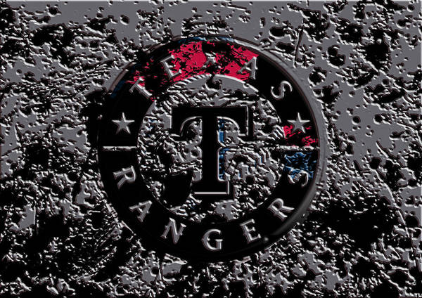 The Texas Rangers 1b Art Print