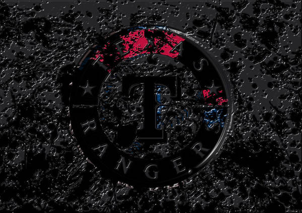 The Texas Rangers 1c Art Print