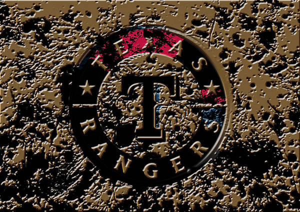 The Texas Rangers 1e Art Print