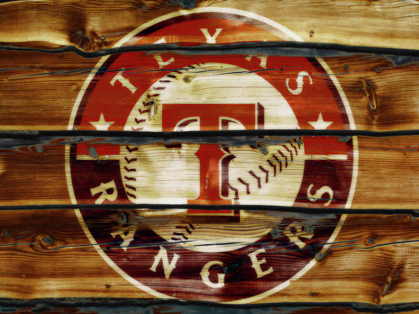 The Texas Rangers 1w Art Print