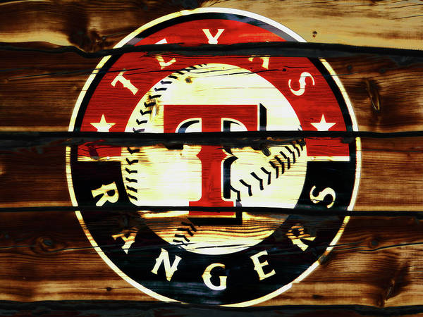 The Texas Rangers 2w Art Print
