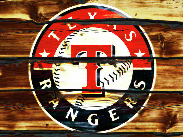 The Texas Rangers 3w Art Print
