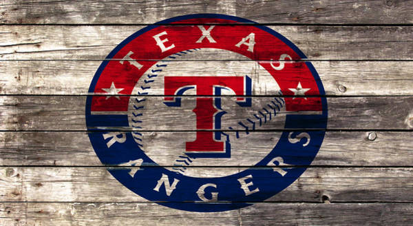 The Texas Rangers 4a Art Print