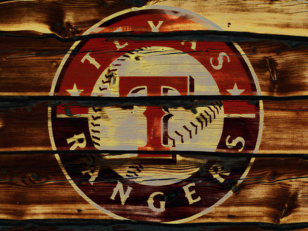 The Texas Rangers 4w Art Print