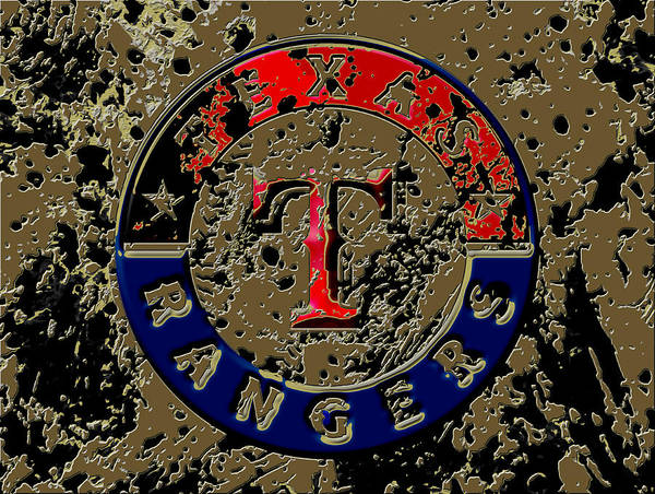 The Texas Rangers 6a Art Print