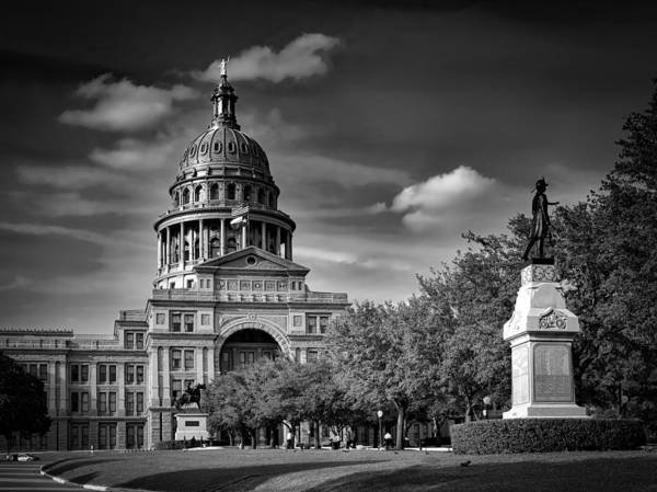 Texas Capitol Photograph - The Texas State Capitol by Mountain Dreams