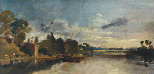 Painting - The Thames Near Walton Bridges  by Joseph Mallord William Turner