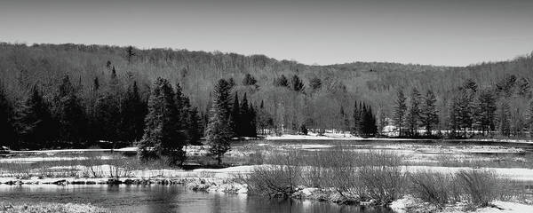 Wall Art - Photograph - The Thawing Of The Moose River by David Patterson