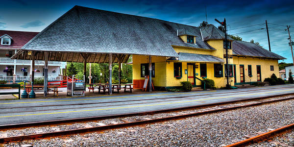 Photograph - The Thendara Train Station by David Patterson