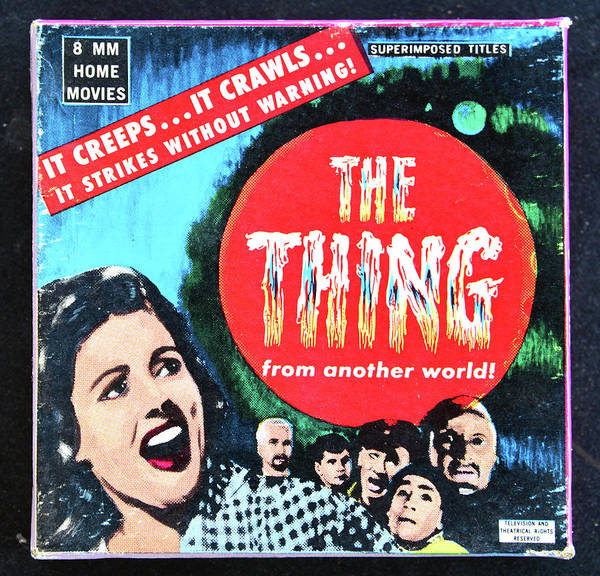 Wall Art - Photograph - The Thing 1951 8mm by David Lee Thompson