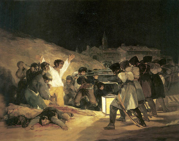 Wall Art - Painting - The Third Of May by Francisco de Goya