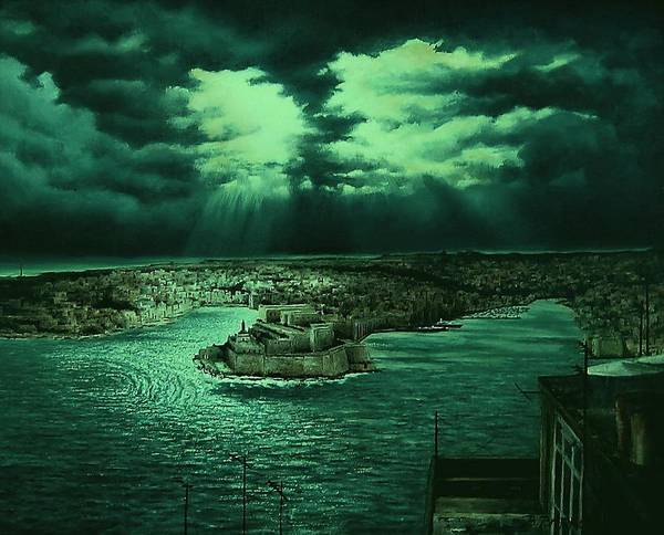Benny Painting - The Three Cities by Benny Brimmer