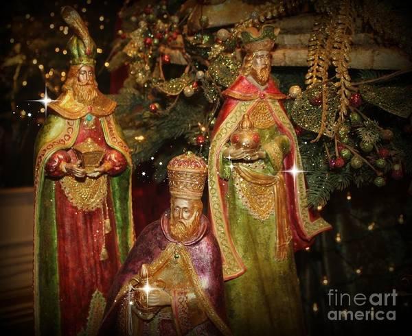 Photograph - The Three Kings by Jenny Revitz Soper