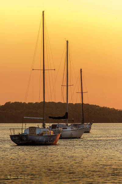 Spinnaker Wall Art - Photograph - The Three Mast by Marvin Spates