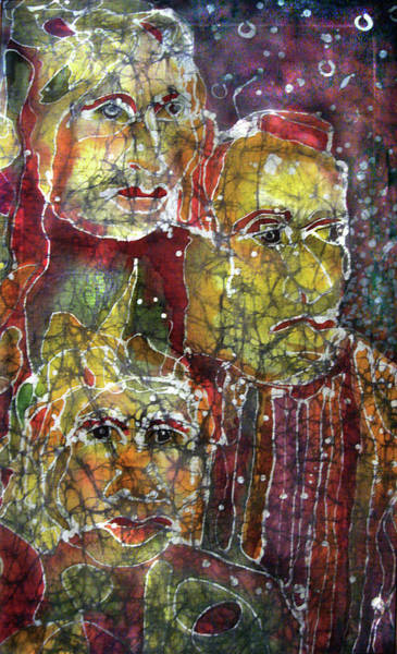 Painting - The Three Muses by Cora Marshall