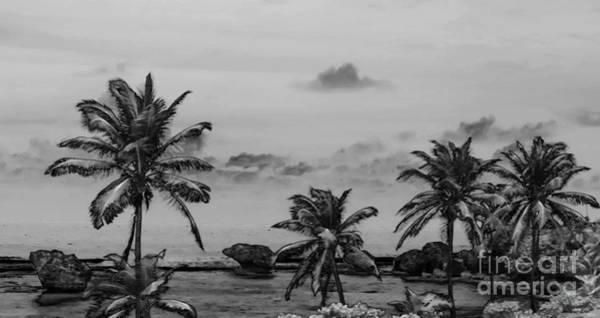 Bahamas Digital Art - The Three Rocks On The Beach 3 by Chantal Bastien