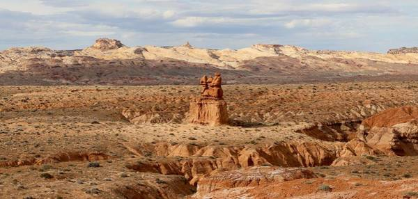Photograph - The Three Sisters At Goblin Valley State Park  by Christy Pooschke
