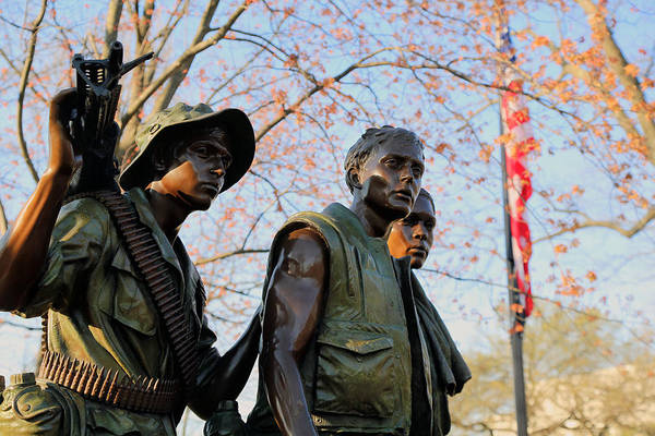 Wall Art - Photograph - The Three Soldiers by Mitch Cat