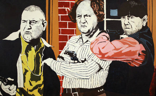 Painting - The Three Stooges by Thomas Blood