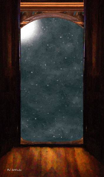 Painting - The Threshold by RC DeWinter