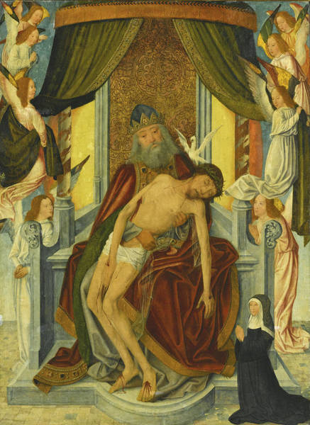 Painting - The Throne Of Grace by Master of the Holy Kinship