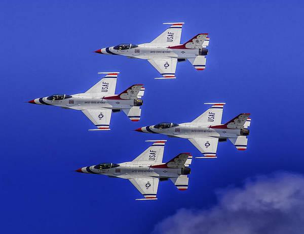 Photograph - The Thunderbirds by Nick Zelinsky