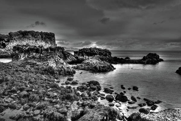 Photograph - The Tide Pools At Hellnar At Low Tid by Matt Swinden