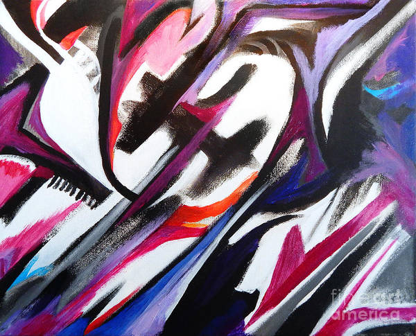 Dominate Painting - The Time Traveler by Expressionistart studio Priscilla Batzell
