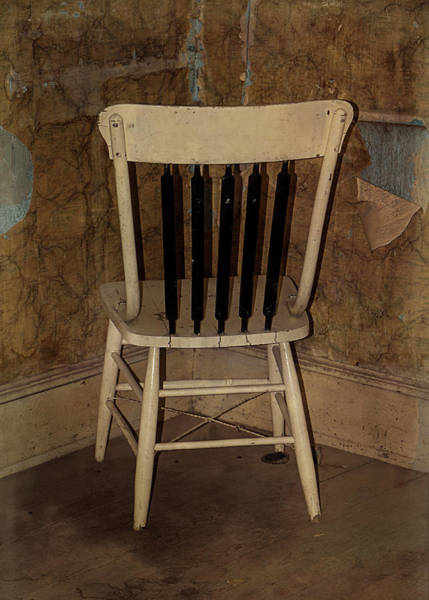 Photograph - The Timeout Chair by Teresa Wilson