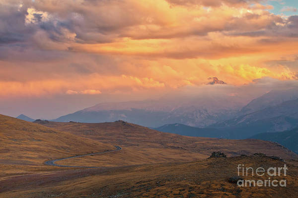 Wall Art - Photograph - The Tip Of Longs Peak by Ronda Kimbrow