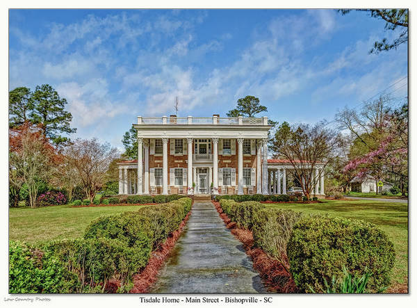 Photograph - The Tisdale Manor by Mike Covington