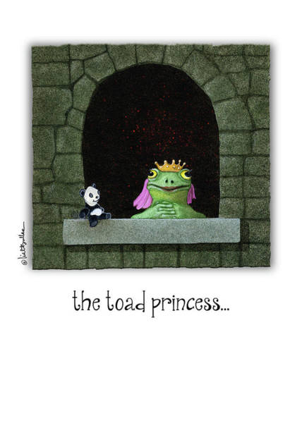 Painting - The Toad Princess... by Will Bullas